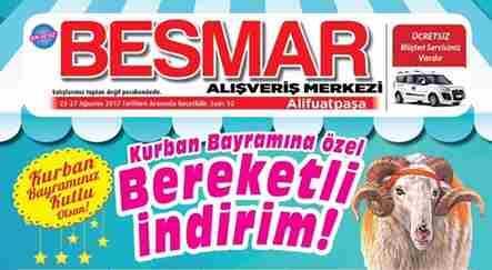 Besmar'da Bayram Bereketi Kampanyası Başladı