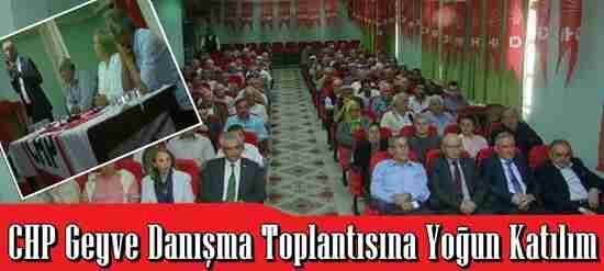 CHP Danışma Meclisine Yoğun İlgi…
