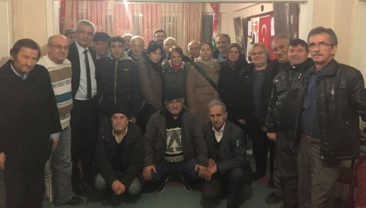 CHP İl Başkanı Erdoğan Isır dan Geyve ziyareti..