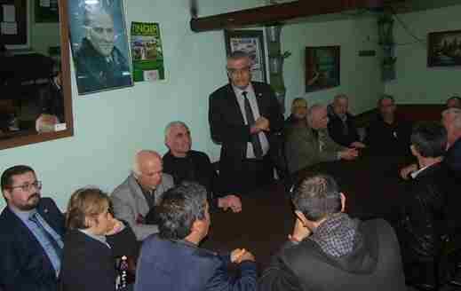 CHP İl Başkanı Isır Geyve'de