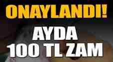 emekliye-ayda-100 tl-seyyanen-zam-