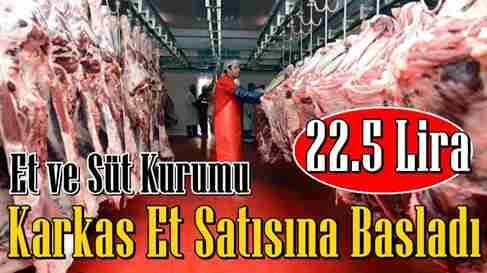 Et Fiyatlarıyla İlgili Flaş Açıklama