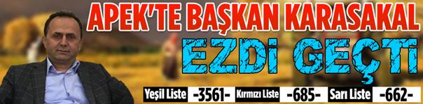 APEK'te Karasakal Ezdi geçti..