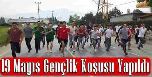 19 Mayıs Gençlik Koşusu yapıldı.