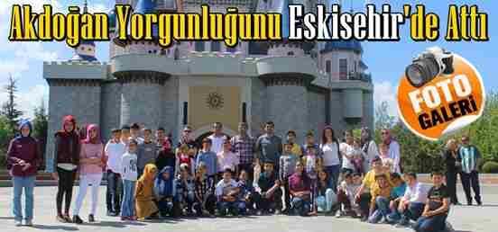 Akdoğan, Yorgunluğunu Eskişehir'de Attı