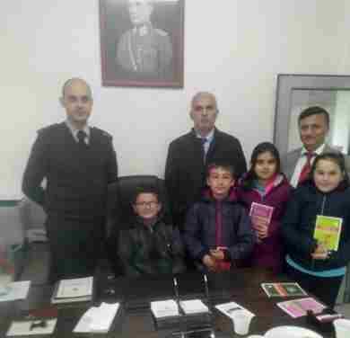 Öğrencilerden Askerlik Şubesi Ziyareti