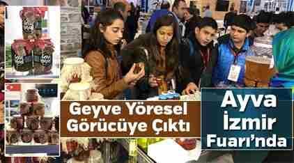 Geyve Yöresel Ürünleri İzmir Fuarında