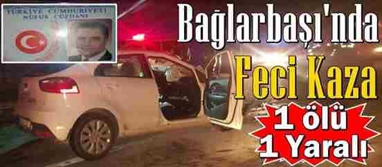 Geyve Bağlarbaşı'nda Feci Kaza : 1 Ölü 1 Yaralı