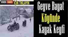 geyve-bayat koyu-kayak-keyfi-