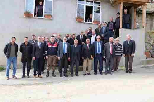 Burhaniye Mahallesinde Halk Toplantısı Yapıldı