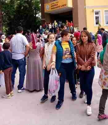 Geyve'de de Bursluluk Sınavları Yapıldı.