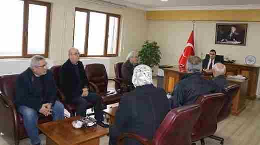 CHP Yönetiminden Kaymakam Memiş'e Ziyaret