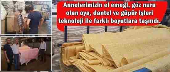 Erdem Brode Tekstil, Güpür'ün Adresi
