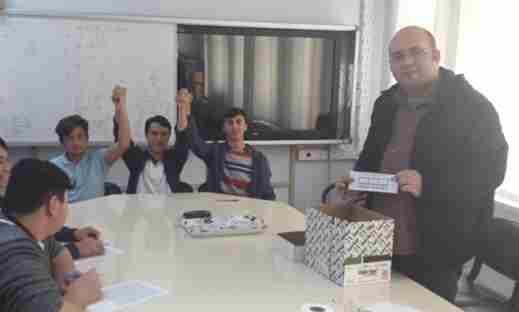 Geyve Anadolu İmam-Hatip Lisesi Başkanı Yılmaz