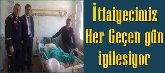 Yangında Yaralanan Ali Duman Her Geçen Gün İyileşiyor