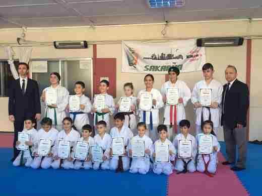 Geyveli Karateciler Kuşak terfi Etti