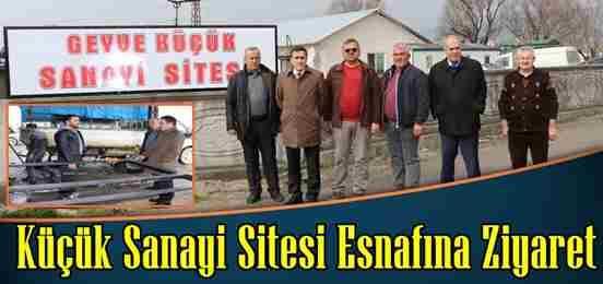 Kaymakam'dan Küçük Sanayi Sitesine Ziyaret