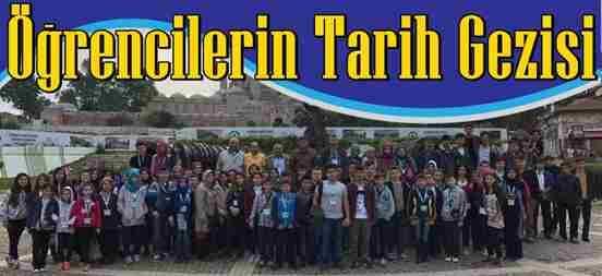 Geyve'li Öğrencilerin Tarih Gezisi