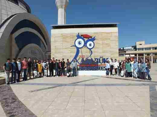 Öğrenciler Karabük Üniversitesini Gezdi