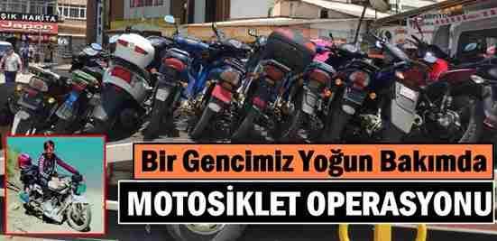 Geyve'de Motosiklet Operasyonu