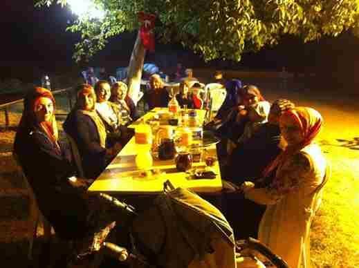 Dr. Sadık Ahmet Sokak Sakinleri İftarlarını Unutmadı.