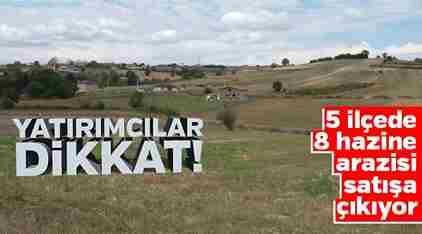 Safıbey'de 49 Yıllığına Kiralık Arazi