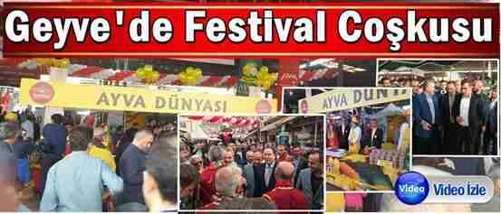 Geyve'de Festival Coşkusu
