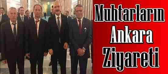 Muhtarların Ankara Ziyareti..