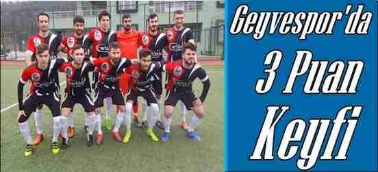 Geyvespor Hacımercanspor'u 2-0 Mağlup Etti