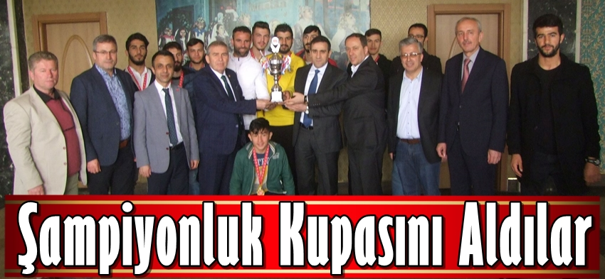 Geyvespor, Şampiyonluk Kupasını Aldı..