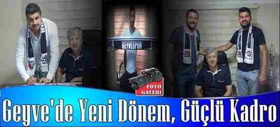 Geyvespor'da Yeni Dönem, Güçlü Kadro…