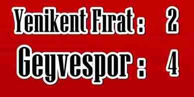 Geyvespor Play-Off'a Kalmayı Garantiledi.