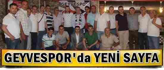 Geyvespor'da Yeni Sayfa…