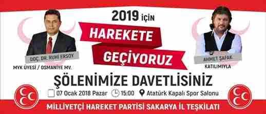 MHP Şova Hazırlanıyor