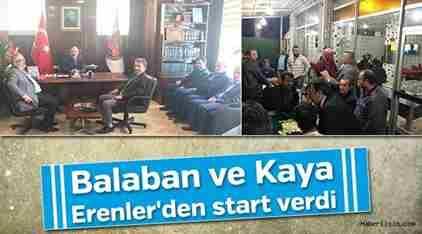 MHP Milletvekili Adayı Kaya Çalışmalara Start verdi