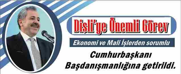Şaban Dişli'ye Önemli Görev