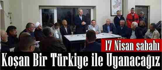 Milletvekili İsen, 17 Nisan Sabahı Koşan Bir Türkiye ile Uyanacağız