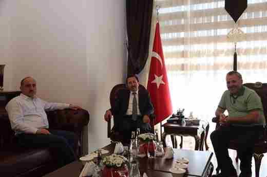 Milletvekili Dişli, Vali Balkanlıoğlu'nu Ziyaret Etti