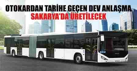 Otokar'dan Tarihe Geçen Dev Anlaşma..