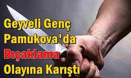 Geyveli Genç Pamukova'da Bıçaklama Olayına Karıştı