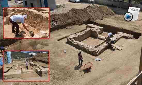 Roma Dönemine ait 2000 Yıllık Mezar Bulundu