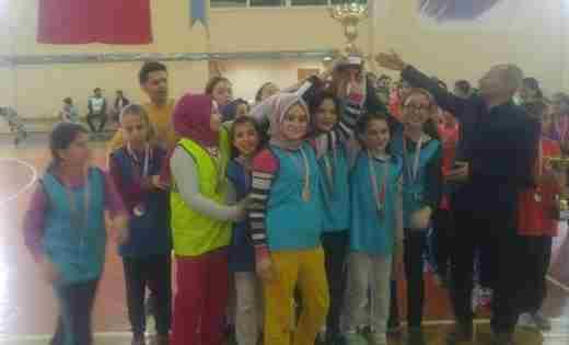 Geyve Atatürk Ortaokulu Sakarya Şampiyonu Oldu