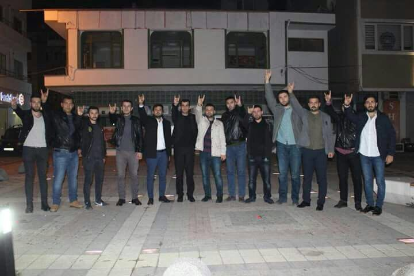 Ülkü Ocakları Başkanı Sofuoğlu Geyve'de