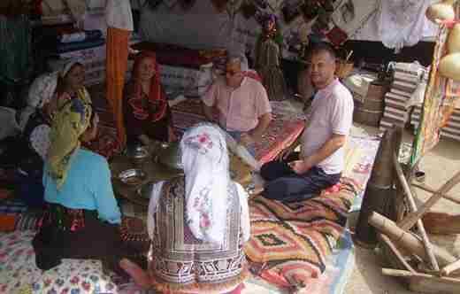 Yerel Kültürcüler Yörük Şenliklerine Katıldı