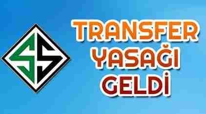 Sakaryaspor'a Kötü Haber.. Transfer Yasağı geldi
