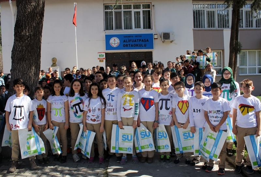 SASKİ Geyve'de bin 209 öğrenciyle buluştu