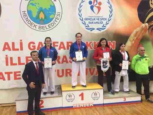 Geyveli KaratecilerdenŞehit Ali Gaffar Okkan anısına 18madalya
