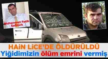 Safitürk'ün Ölüm Emrini Veren Hain Öldürüldü