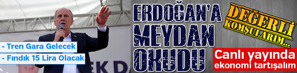 CHP'nin Cumhurbaşkanı Adayı İnce Sakarya'da
