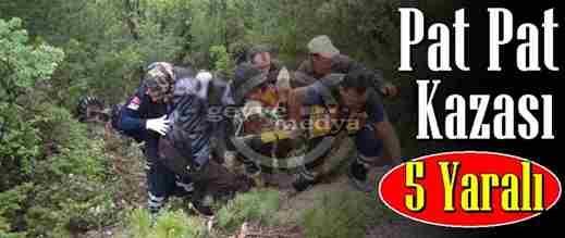 Taraklı'da Patpat Kazası: 5 Yaralı